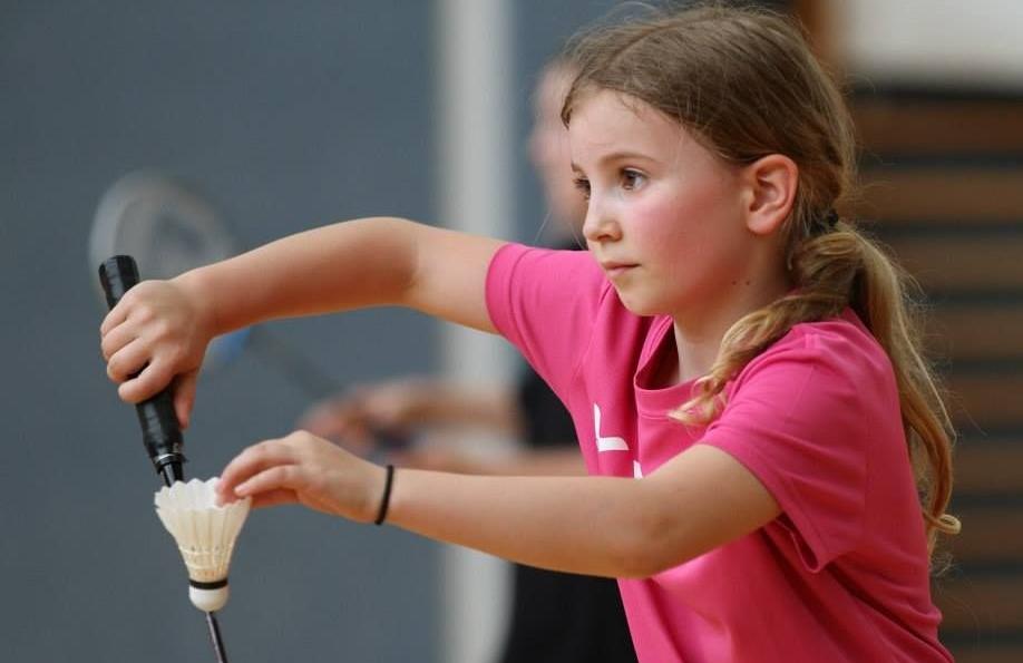 Schlagarten im Badminton
