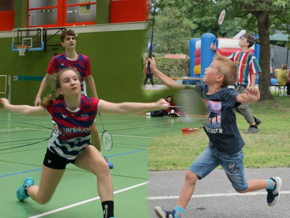 Badminton vs. Federball